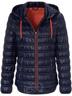 Gewatteerd jasje blauw