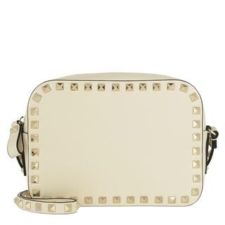 Tasche - Rockstud Camera Crossbody Bag Marine Blue Light Ivory in wit voor dames