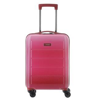 Spring koffer 55 cm pink