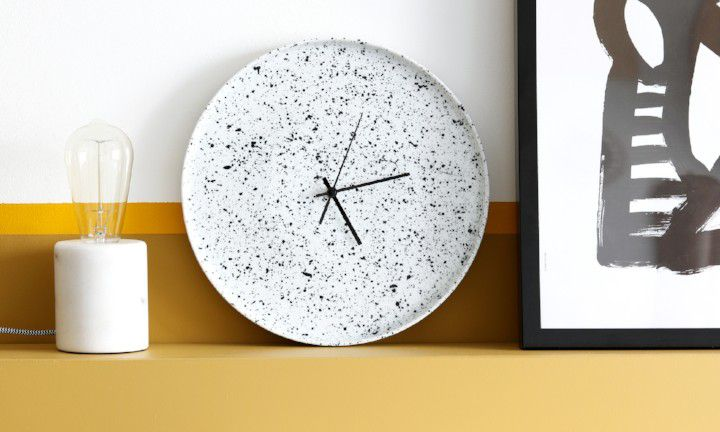 DIY: keramieken klok
