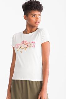 C&A T-shirt-glanseffect, Wit, Maat: XL