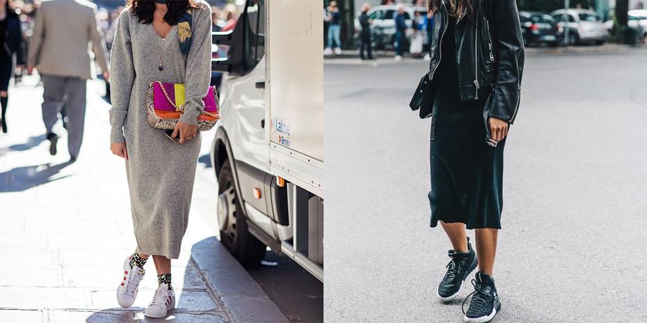Fabulous 5 manieren om sneakers te dragen HU44