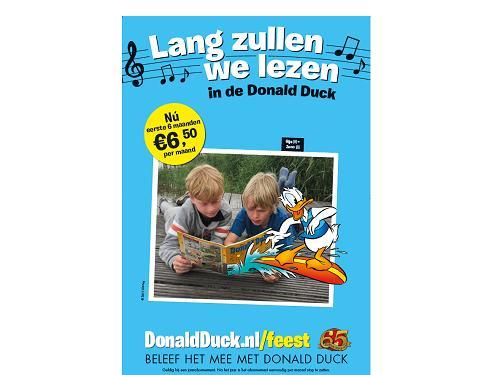 Meer dan 10.000 nieuwe abonnees voor Donald Duck Weekblad