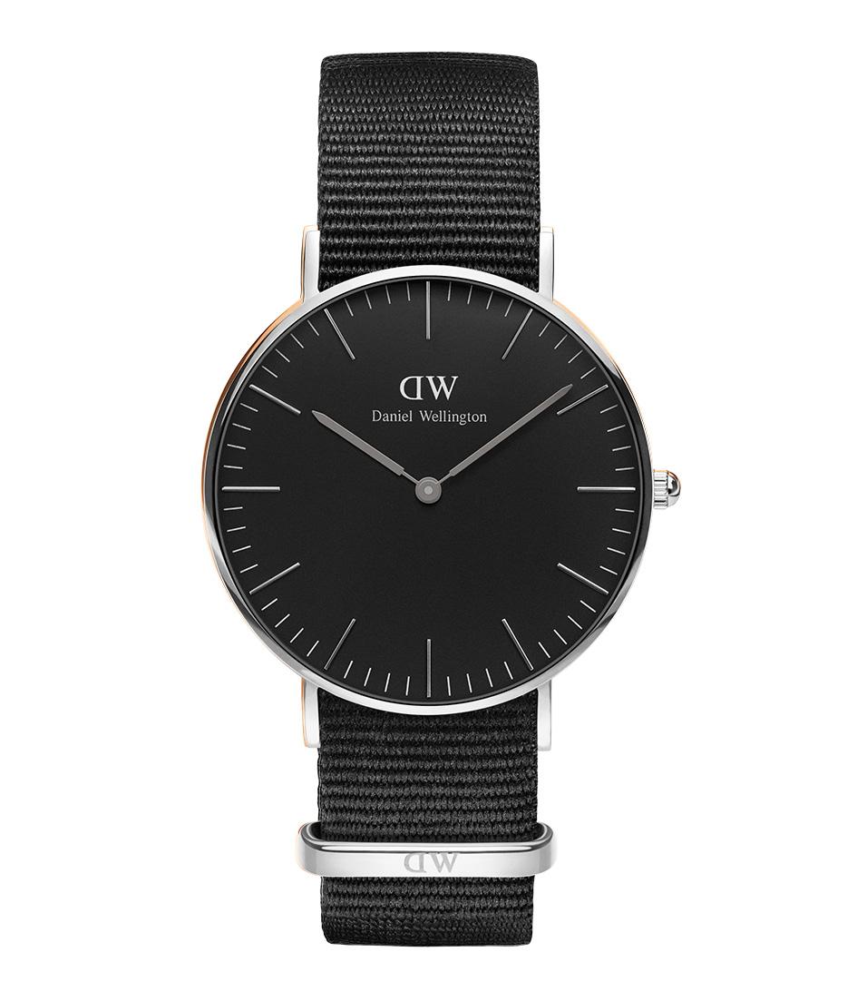 Daniel Wellington Horloges Classico Nero Cornwall 40 Millimetri Zilver qK8DHDitH