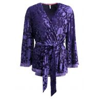 Short Stories BABY IT'S COLD OUTSIDE Pyjamashirt deep purple