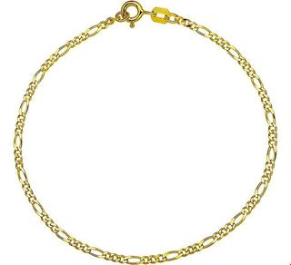 Geelgouden Collier figaro 1 4003985 38 cm