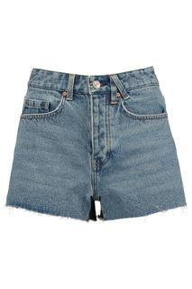 Dames Denim Short Nickey Blauw