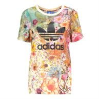 Adidas Boyfriend trefoil tee multicolour