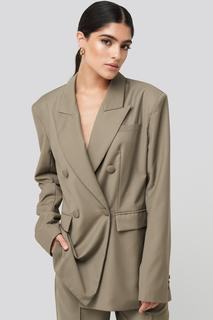 Straight Double Breasted Blazer