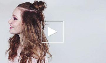 How to: 4 makkelijke en héle snelle haarstijlen