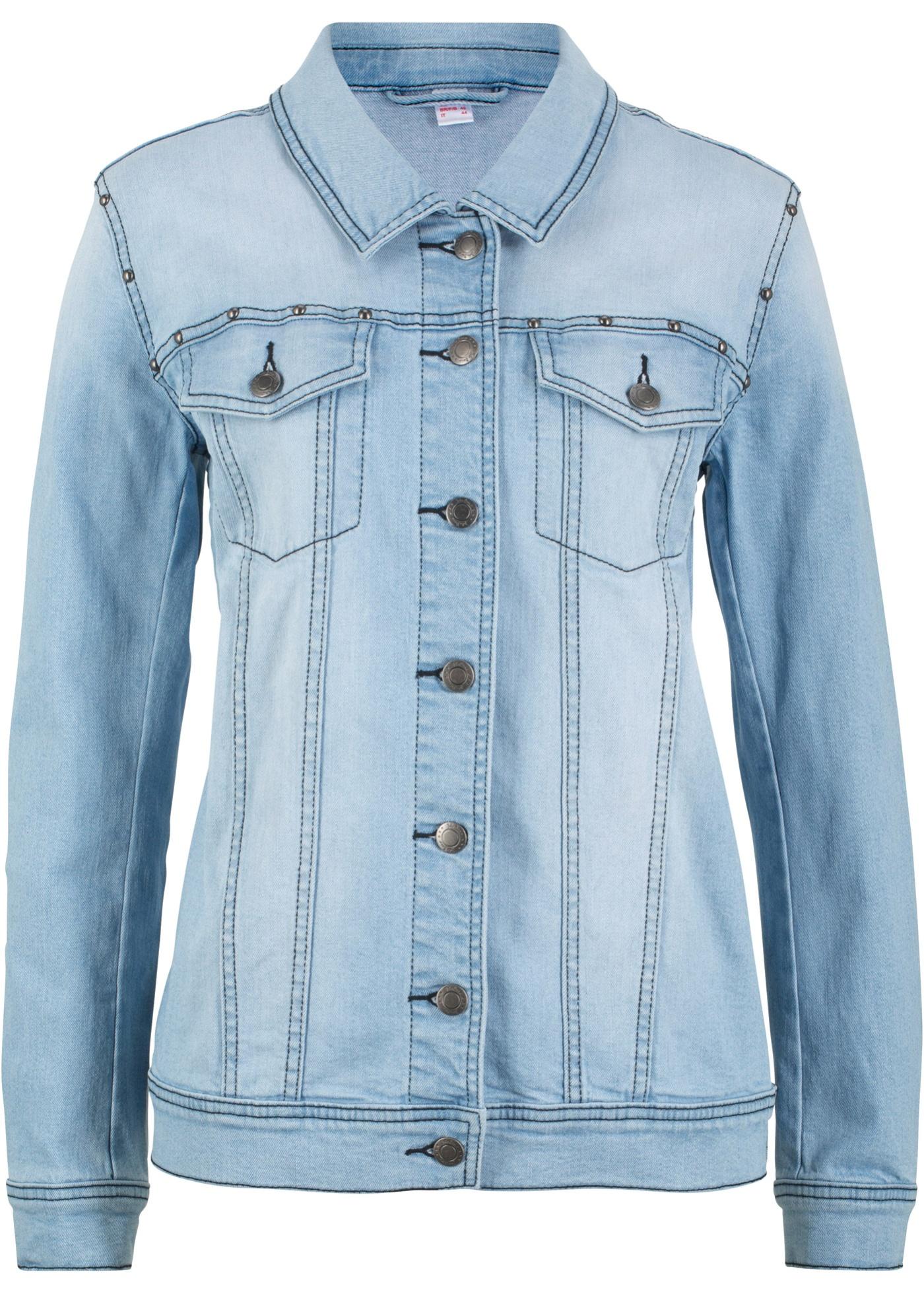 In Jeanswear Mouw Blauw Spijkerjasje Baner John Dames Lange e9YD2IbWEH