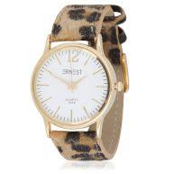 Leopard Watch Brown