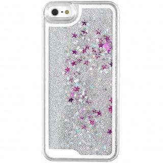 iPhone 6/6S hoesje - Glitters zilver