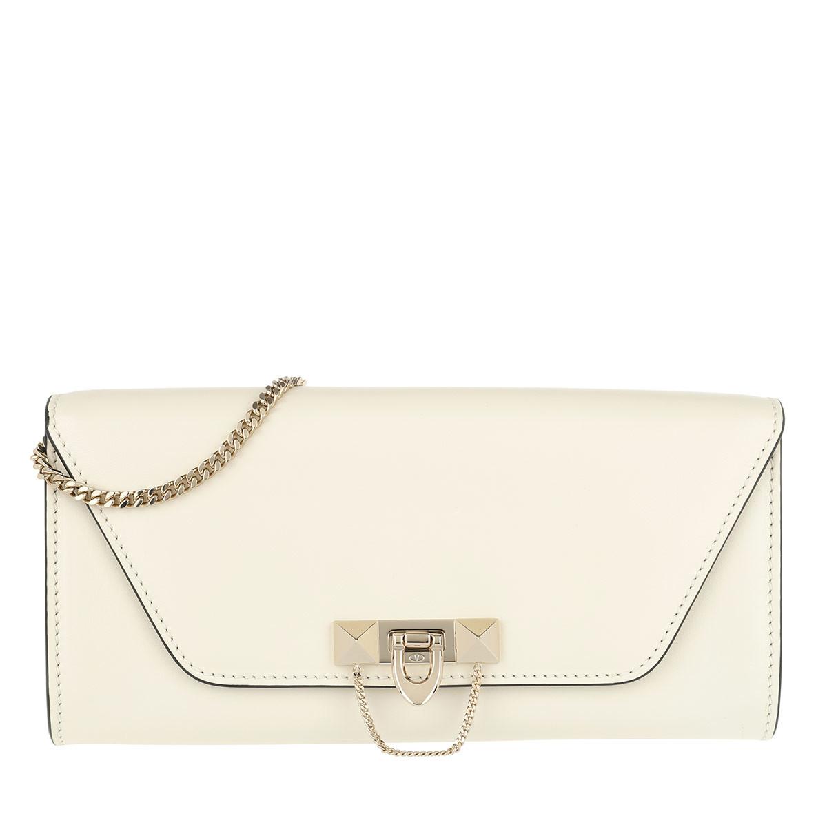 Valentino Schoudertassen - Rivet Color Block Leather Ecru in beige voor dames Amazon Online Klaring Van Topkwaliteit 9VZpWJ