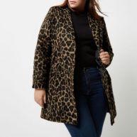 RI Plus - jas met luipaardprint