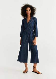 Denimstijl jumpsuit