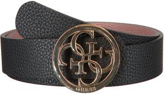 Zwarte Guess Riem Bobbi Reversible Belt