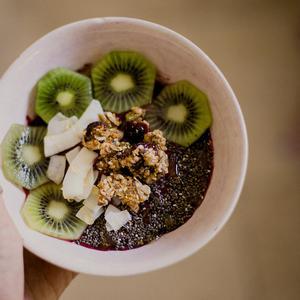 Onbijt met kiwi