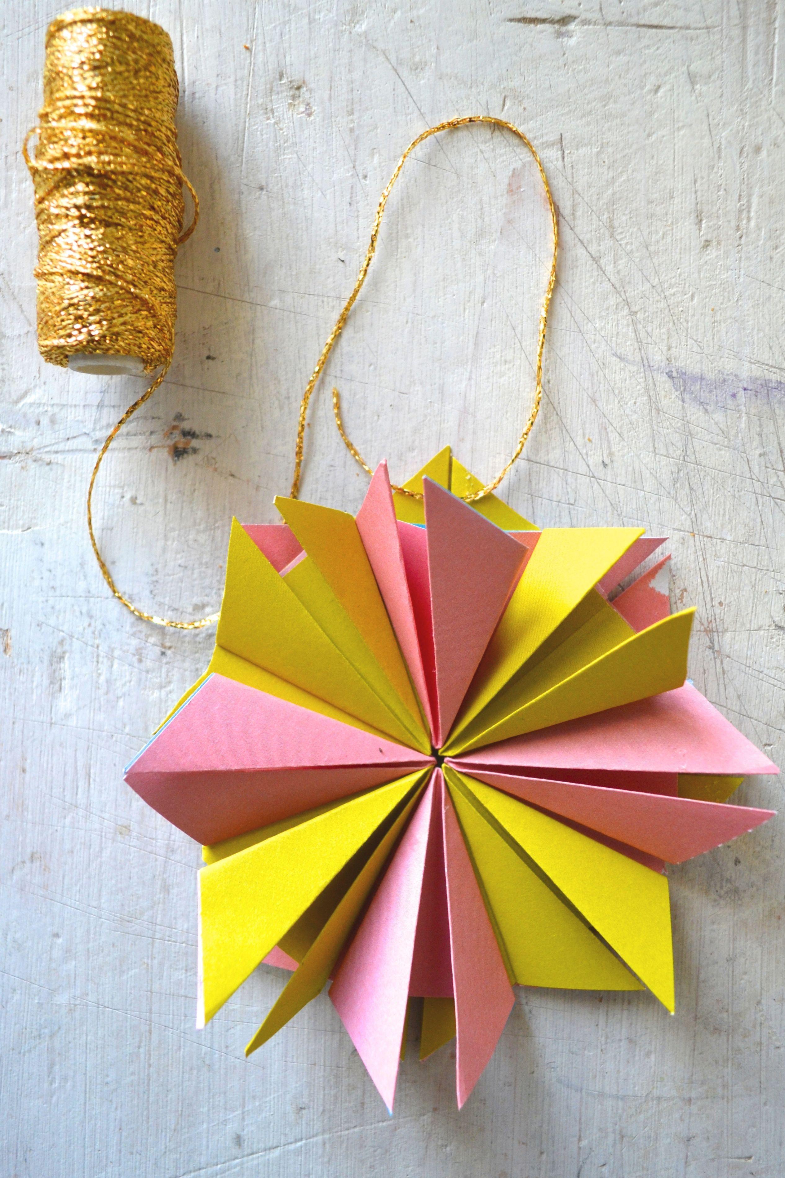 Genoeg Papier-vouw-idee 1 - Flow Magazine NL @RC48