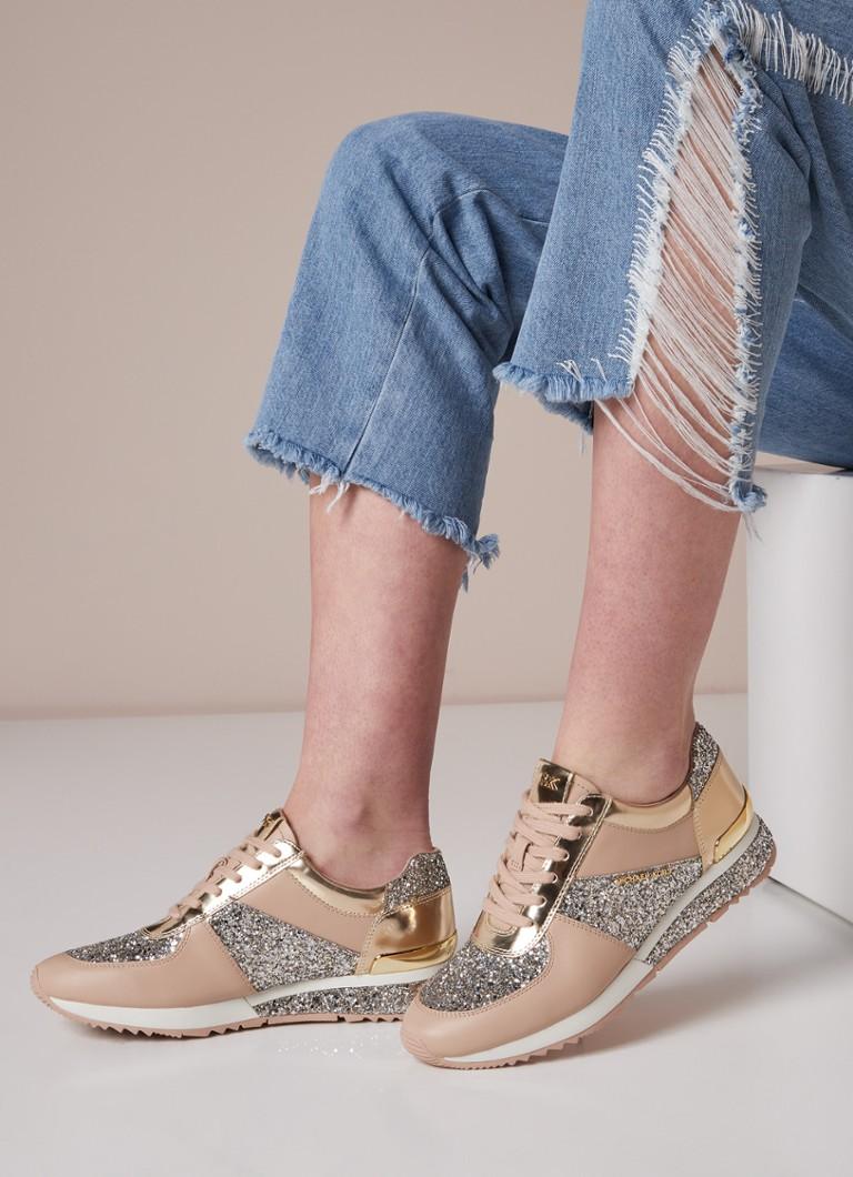 Allie Sneaker Med Skinndetaljer Og Glitter Fabrikkutsalg Online Klaring Footlocker Målgang Veldig Billig For Salg PaNcpC