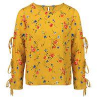 Flower Blouse - Yellow