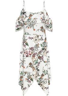 Dames jurk zonder mouwen in wit