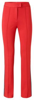 Jersey flared trousers