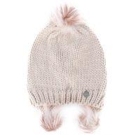 Urbancode pompom hat - Pink & Purple