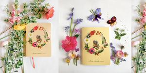 Flowery journal