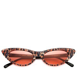 Zonnebril. Cat-eye. Roze. Rood. Leopard.