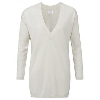 Fine Knitted V-neck Sweater