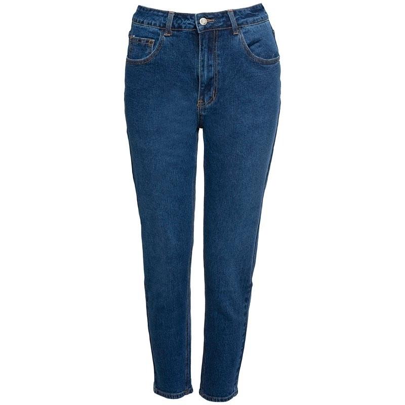 Basic Mom Comegetfashion Jeans Dark Blue 0OXwPkn8