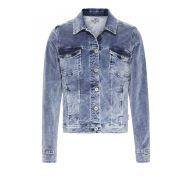 Blue Sista - Velvet jacket Dark Denim