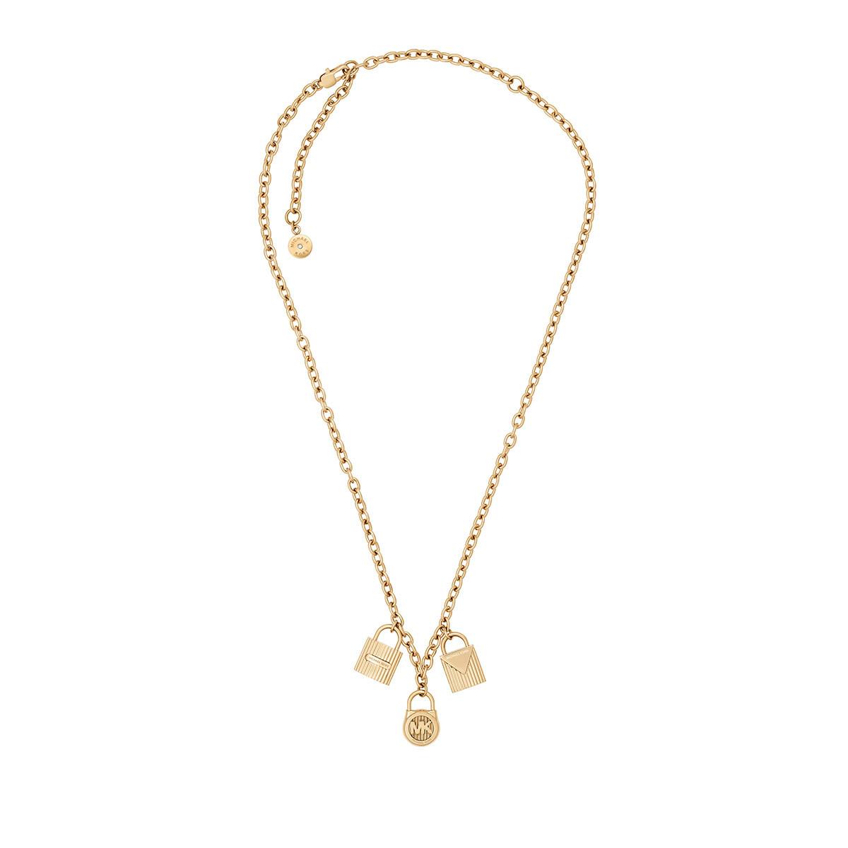 jW41SrbbzN Sieraden - Logo Lock Trinket Necklace goud in goud voor dames Klaring Order Comfortabele Online Te Koop 0kQU7