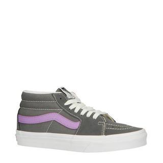 SK8-Mid sneakers grijs/paars