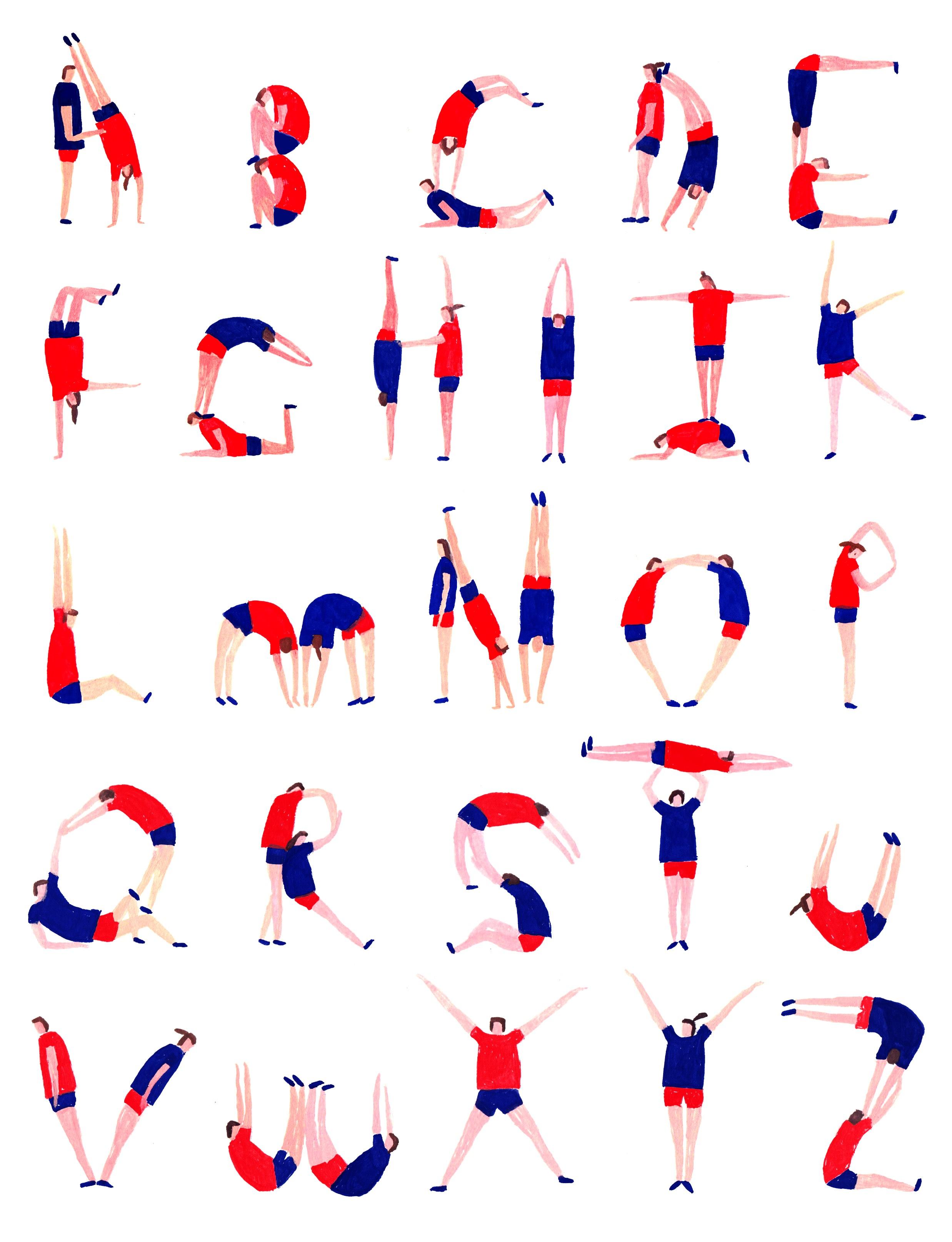 Letterlove flow magazine - Lettres alphabet originales ...