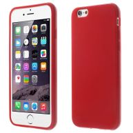 iPhone 6/6S siliconen hoesje - Rood