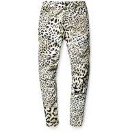 G-Star Elwood X25 leopard W Denim Pants jeans wit zwart e wit zwart e