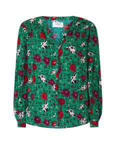Palerme blouse met bloemendessin