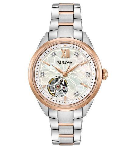 Bulova automatisch horloge Diamonds, 98P170