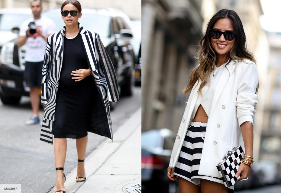Streetstyle gestreept Fashionchick