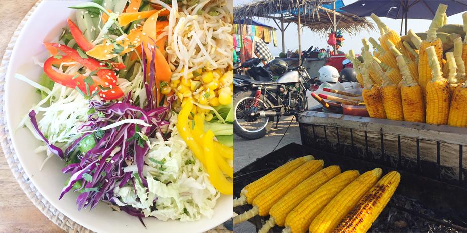 Gezond eten in Bali