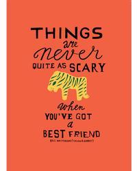 Poster Best friend Tijger