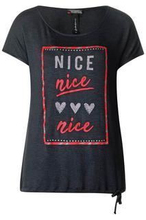 Shirt met grafische print Abelia