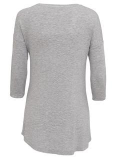 Dames Nachthemd Donkergrijs (donkergrijs)