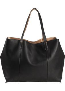 Dames shopper in zwart