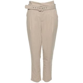 HIGH WAIST BELT PANTS