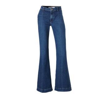 high waist flared jeans (dames)