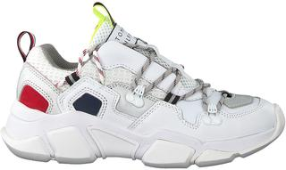 Witte Lage Sneakers City Voyager Chunky