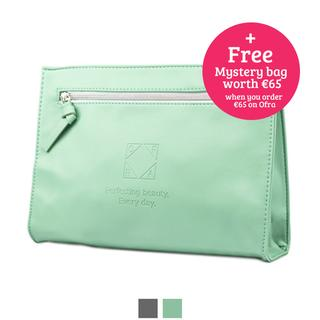 Cosmetics Perfecting Beauty Bag Grey